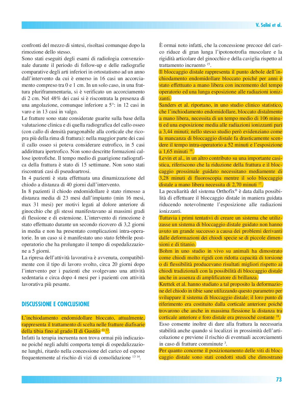 Articolo Giornale Italiano di Ortopedia e Traumatologia